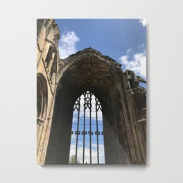 Melrose Abbey - Scotland Metal Print