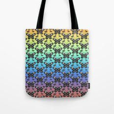 Butterfly pattern in color Tote Bag