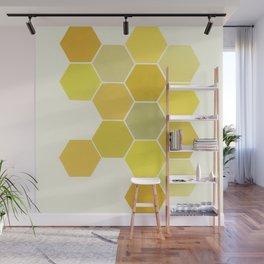 Shades of Yellow Wall Mural