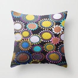Nightflowers - 2 Throw Pillow
