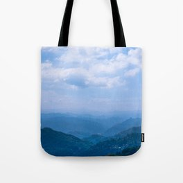 Mountain Shades Tote Bag