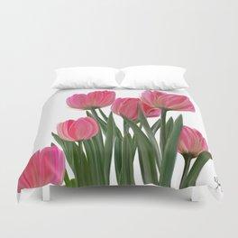 The Joy of Tulips Duvet Cover