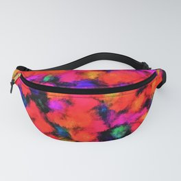 Bright Rainbow Colors Fanny Pack