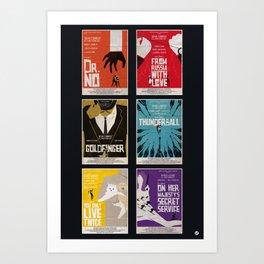 Bond #1 Art Print
