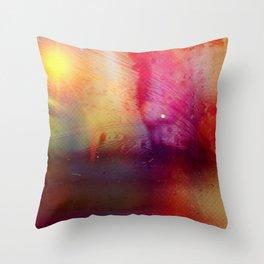 Disintegration (Falling Apart) Throw Pillow