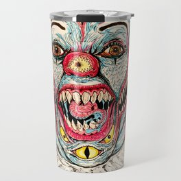 Scary Clown Travel Mug