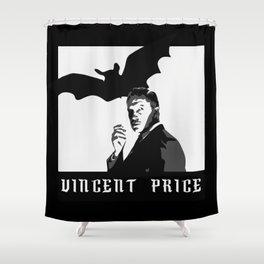 Vincent Price Shower Curtain