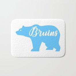 Blue Bruins Bear Bath Mat