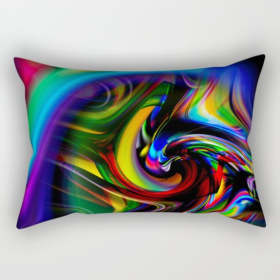 Abstract Perfection 19 Rectangular Pillow