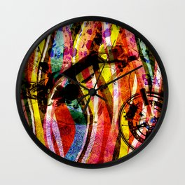 Motorbike Fibres  Dream Series 001 Wall Clock