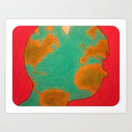 """The Hidden World Within"" Art Print"