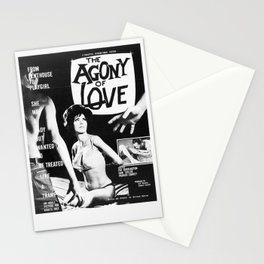The Agony Of Love Stationery Cards