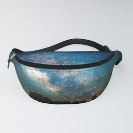 The Milky Way Mountains Fanny Pack