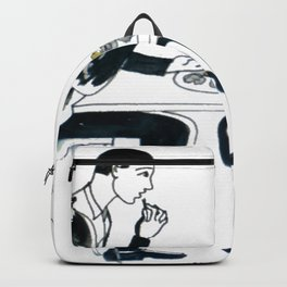 Oyster Feast          by Kay Lipton Backpack