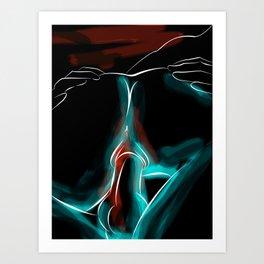 """Penetration - 1"" Art Print"