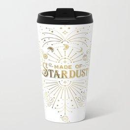 Made of Stardust – Gold Palette Metal Travel Mug