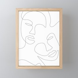 Face Appearance Framed Mini Art Print