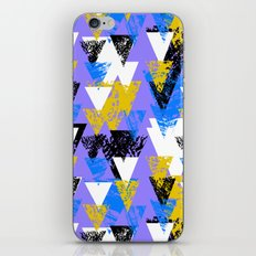 Bright triangles iPhone & iPod Skin