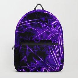 Ultra violet star lightning - by Brian Vegas Backpack