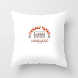 Ramen Art Print Throw Pillow