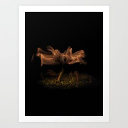 fluid Dance moves - 120 Art Print