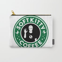 Soft Kitty Coffee Carry-All Pouch