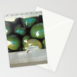 Lime Truck Stationery Cards