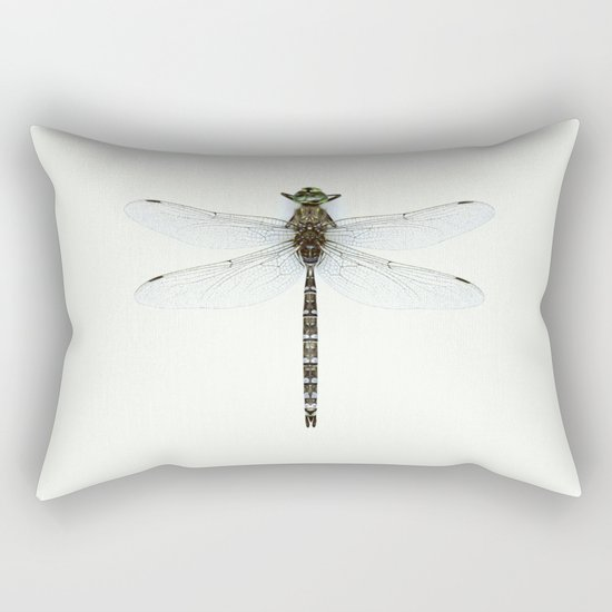 dragonfly #3 Rectangular Pillow