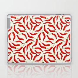 Hot red chili pepper pattern Laptop & iPad Skin
