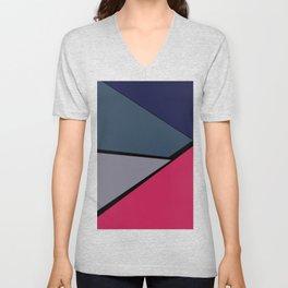 Geometric confusion#02 Unisex V-Neck