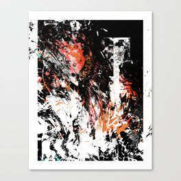 Oh Uncertainty Canvas Print