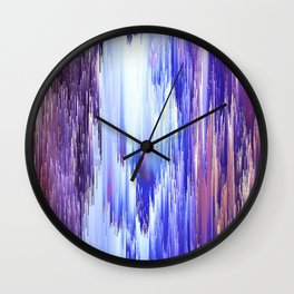 Abstract Electro One Wall Clock