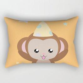 Party Monkey Rectangular Pillow