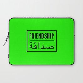Friendship arabic Laptop Sleeve