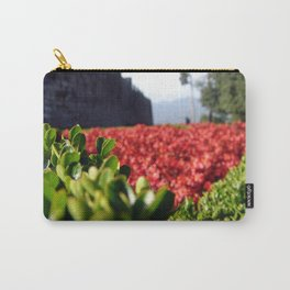 Monarch Flowers Carry-All Pouch