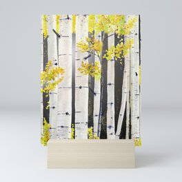 Birch Tree Mini Art Print