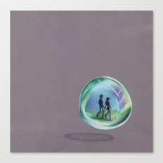 In a Bubble Canvas Print