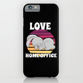 Home Office T-shirt Gift iPhone Case