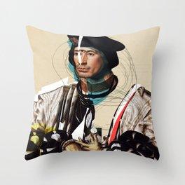 Jan Gossaert and the Buisness Man Throw Pillow