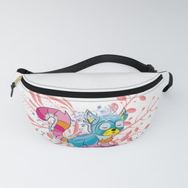 Happy Spring Raccoon Fanny Pack