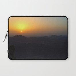 The Sunrise at Moses mountain Laptop Sleeve