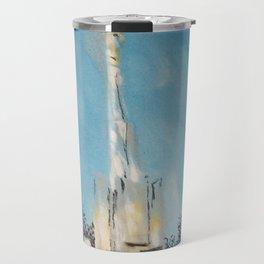 Atlanta GA LDS Temple Tie Travel Mug