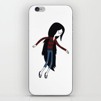marceline iPhone & iPod Skins featuring Marceline fly by OverClocked