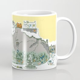 Edinburg View (Princes Street Gardens) Coffee Mug
