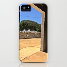 Ceramics Lab View iPhone Case
