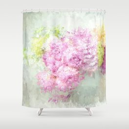 summer thoughts Shower Curtain