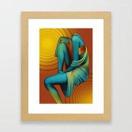'Faceless' Part I Framed Art Print