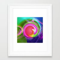 "agate Framed Art Prints featuring "" Agate ""  by shiva camille"