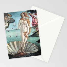 The Birth of Venus, Sandro Botticelli Stationery Cards