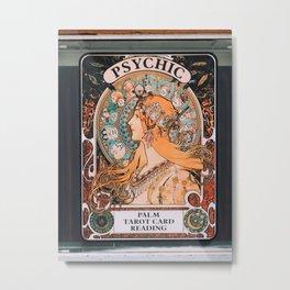 venice beach psychic Metal Print